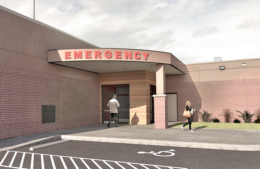 The Powell Valley Hospital Emergency Department will undergo a full renovation starting this August. When complete, the department will have much more privacy for patients and a better workflow for staff — along with a new entrance.
