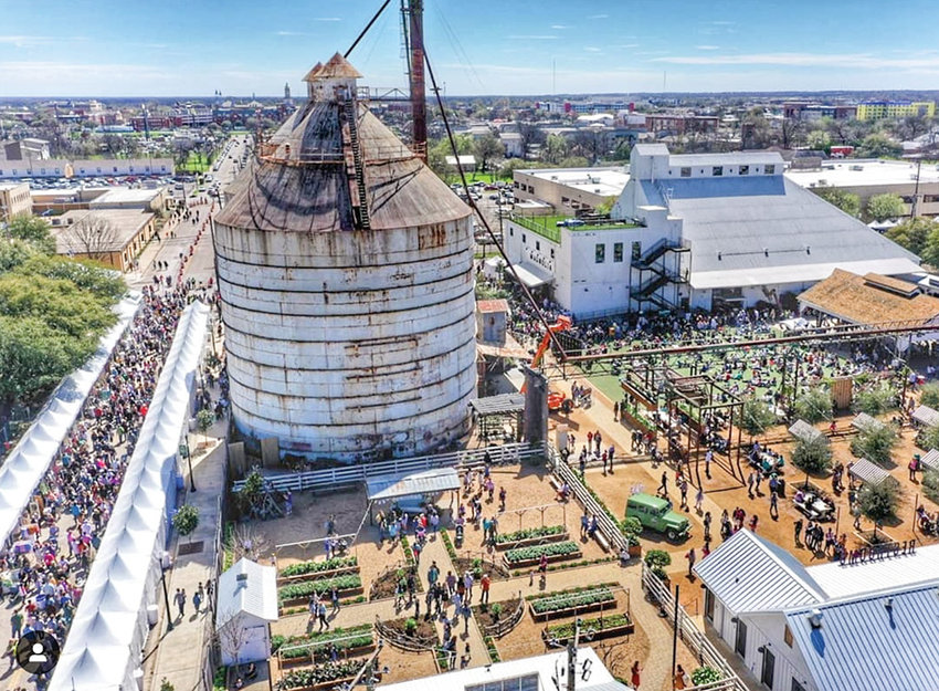 Magnolia's Spring at the Silos in Waco, Texas, from March 14-16 drew thousands of visitors. OLIVE & PEARL of Cody was selected to be a vendor at the popular event.