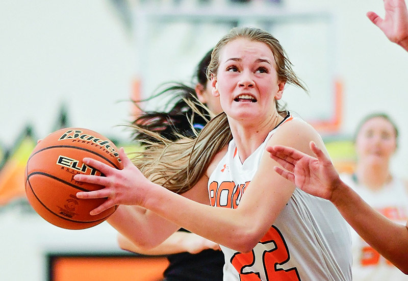Former PHS Lady Panther Aubrie Stenerson was named to the Wyoming All-Star Team and will compete this weekend in the Wyoming-Montana All-Star Girls' Basketball Series.