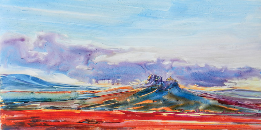 The 'Poetic Views 2019' exhibit opening Thursday at Plaza Diane is a lively collaboration between mother and daughter with Montana and Wyoming as their inspiration.