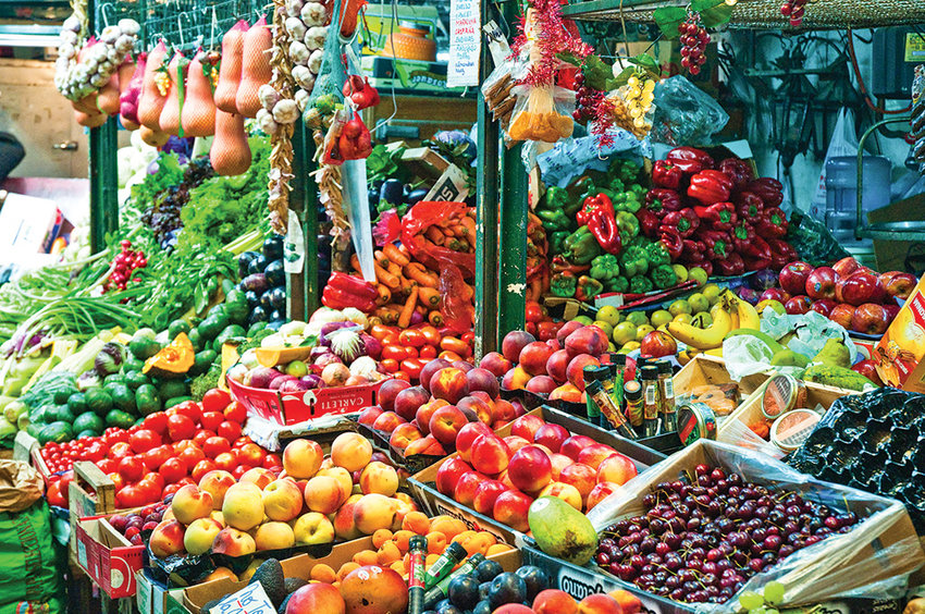 The San Telmo market in Buenos Aires is one of the planned stops on an upcoming Northwest College trip to Argentina and Uruguay.