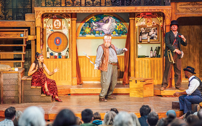 Montana Shakespeare in the Parks will bring 'Henry IV, Part I' to Washington Park in Powell on Saturday evening. The recent centennial of WWI inspired executive artistic director Kevin Asselin to set 'Henry IV, Part I' in that era.