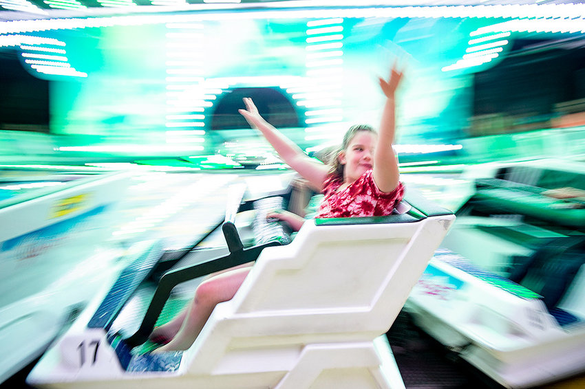 The Himalaya ride was a favorite on the midway at the Park County Fair last week. Ticket sales for the carnival were up from last year, leading fair leaders to suspect that gate attendance was as well. Final numbers have not yet been tallied.