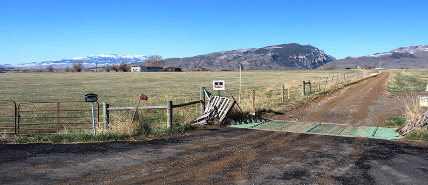 The Wyoming Game and Fish Department plans to eventually build a new regional office at this property north of Cody. The Game and Fish Commission recently agreed to purchase just less than 22 acres of land for $350,000. The property is currently owned by Park County Commissioner Joe Tilden.