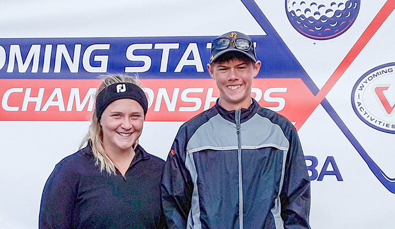 PHS golfers Mycah Wainscott and George Higgins earned All-State honors over the weekend at the 3A State Golf Tournament in Afton. Wainscott finished tied for third, while Higgins finished sixth.