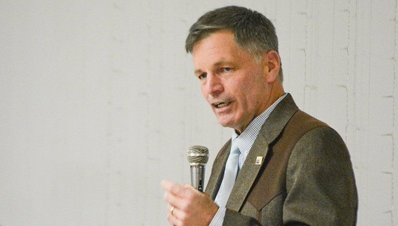 Gov. Mark Gordon announced Friday that he's extending a series of COVID-19 restrictions through the end of April.
