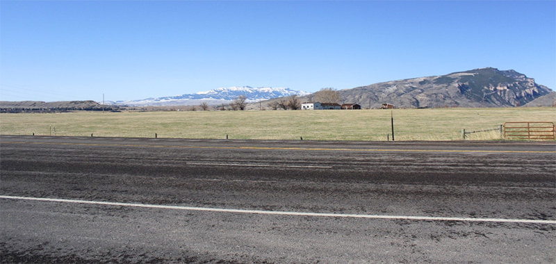 This 22-acre parcel of land along Wyo. Highway 120 north of Cody, near Road 2AB, is the site where the Wyoming Game and Fish Department plans to build a new regional office.