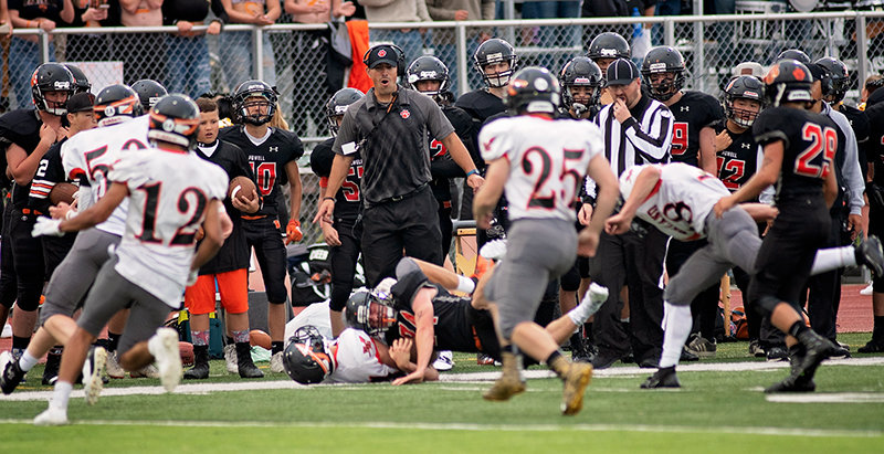 After helping lead the Panther football team to the Class 3A state title game, Powell High School head coach Aaron Papich was named the Super 25 coach of the year by the Casper Star-Tribune, while the entire PHS coaching staff was named as the top unit in Class 3A West by the Wyoming Coaches Association.