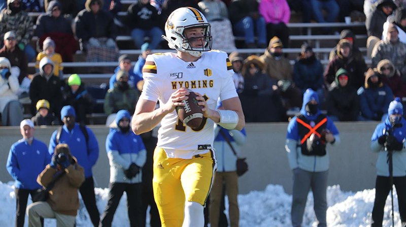 UW freshman quarterback Levi Williams picked up 79 rushing yards in the Cowboy football team's 20-6 loss at Air Force on Saturday afternoon in Colorado Springs. The Pokes will soon find out what bowl game they'll head to.