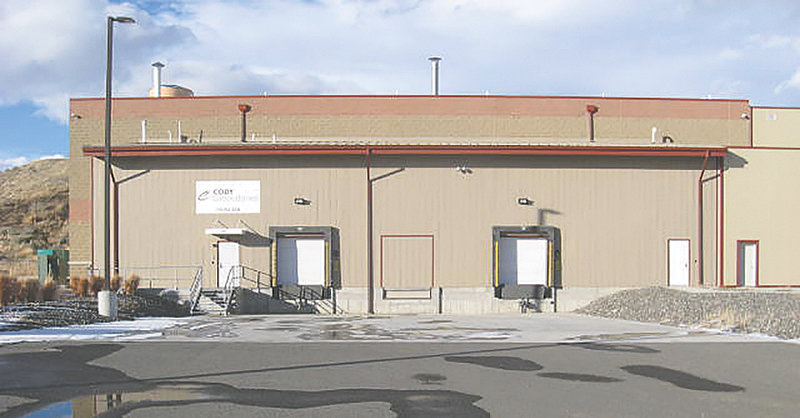 This former Cody Laboratories warehouse — built with the help of state money in 2015 — is set to become a new sample/prototype lab for Adidas Yeezy. Kanye West, who owns the shoe and apparel business Yeezy, moved the company's headquarters to Cody this fall.