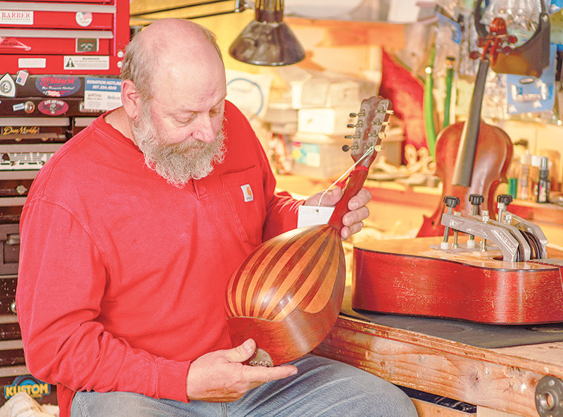 Anton Lehman of Powell recently became a gold status repairman for Fender instruments.