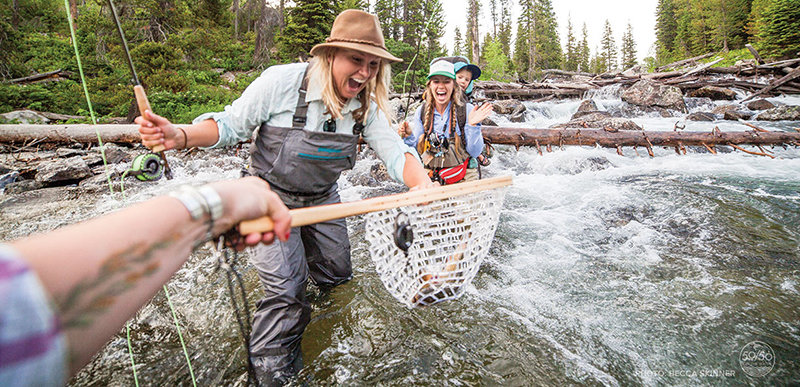 Eleven short films featuring women and fly fishing will be shown Tuesday in Cody. The film tour is hosted by the East Yellowstone Chapter of Trout Unlimited.