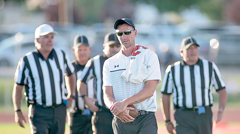 Chase Kistler, who has served an assistant football coach and the head boys' basketball coach in recent years, is taking over as the head football coach at Powell High School.
