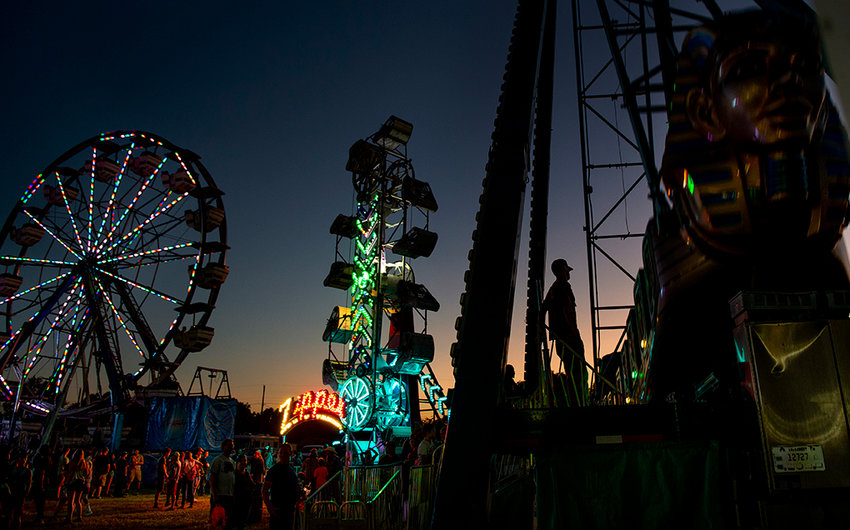 The carnival — a staple at the annual Park County Fair — won't be coming to town this year, as the fair is being substantially cut back due to uncertainty about what public health restrictions will remain in place in late July.