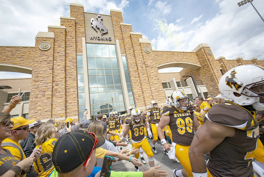 While the University of Wyoming has yet to announce what the fall sports season will look like, some student-athletes — including Cowboy football players — will return to campus for voluntary workouts next week.