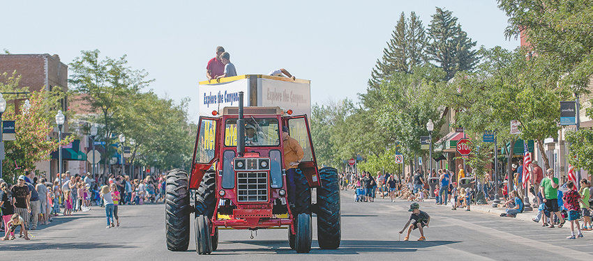 Crowds fill Bent Street for a past Park County Fair parade on a sunny July morning. The largest parade in Powell, the event may not return in 2020 after the City of Powell's insurer refused to provide COVID-19-related coverage for the parade.