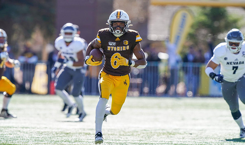 Xazavian Valladay, who rushed for 206 yards in this game against Nevada last year, has been named to the watch list for the Maxwell Award, presented to the most outstanding player in college football.