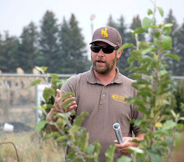 Chris Hilgert is the state coordinator for the Master Gardener program offered through the University of Wyoming Extension.