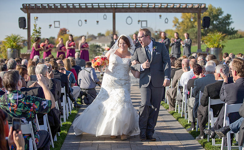 Catching the emotional moments of nuptials is as important as portraiture for wedding photographers and often results in the favorite photographs from the event. Inviting your wedding photographer to the rehearsal will help ensure the photographer is in the right place at the right time.