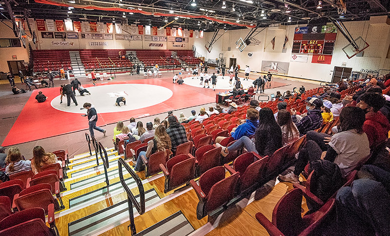 Northwest College hosts the Apodaca Duals on Jan. 29. A majority of NWC wrestlers and coach Jim Zeigler have been suspended for eight dates as a result of a 'severe weigh-in violation' in March.