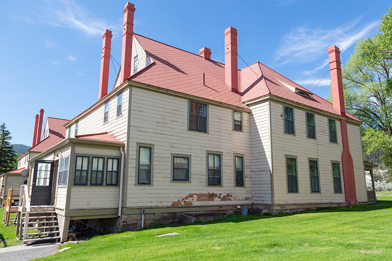 Built about 140 years ago, buildings and employee residences in Fort Yellowstone had fallen into disrepair after decades of deferred maintenance. When Cam Sholly took over as superintendent in 2018, he pledged to refurbish, rebuild or replace all substandard housing in the park. The project is expected to be complete in 2022.