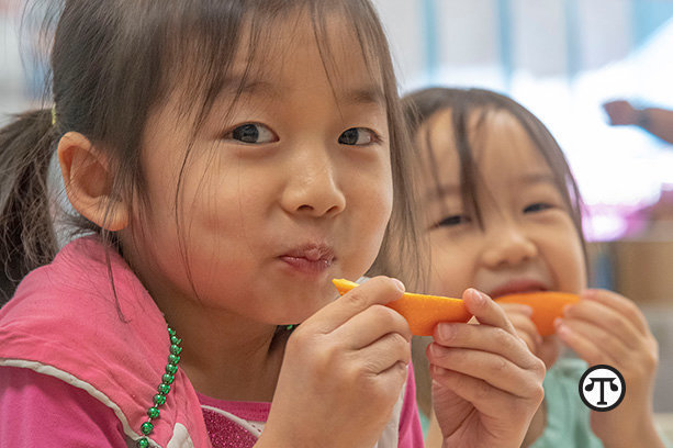 Prevent food waste in your child's lunchbox by adding your child's favorite fruits or vegetables.