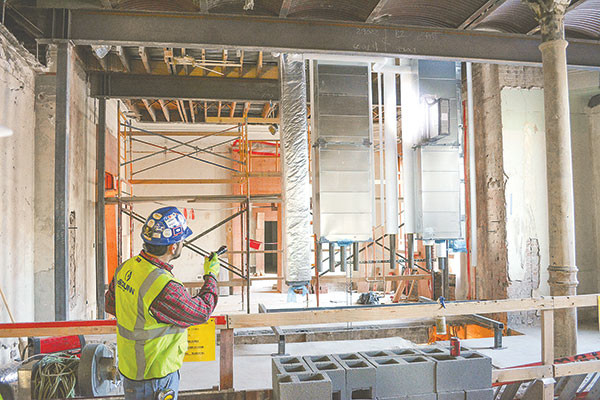 Capitol renovation: 125-year-old building undergoing