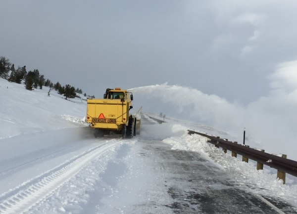 Crews were able to reopen the Chief Joseph Highway on Wednesday evening.