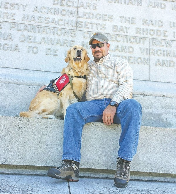 For Local War Veteran Dog Provides Help And Healing Powell Tribune