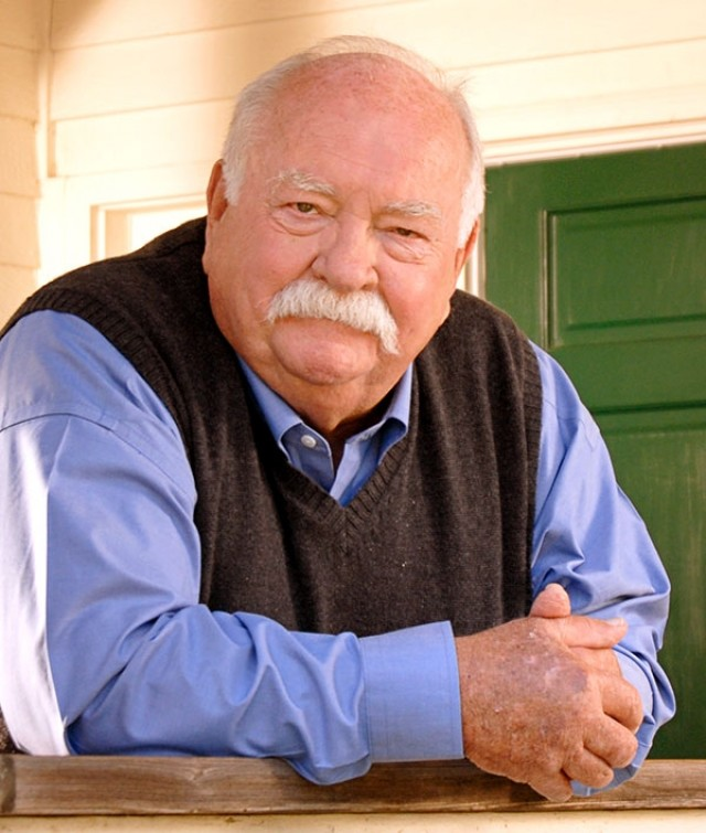 After 50 years in show business, Wilford Brimley said he doesn't consider himself a star, or even an actor, for that matter. He likes that folks he meets in Wyoming treat him that way, too.