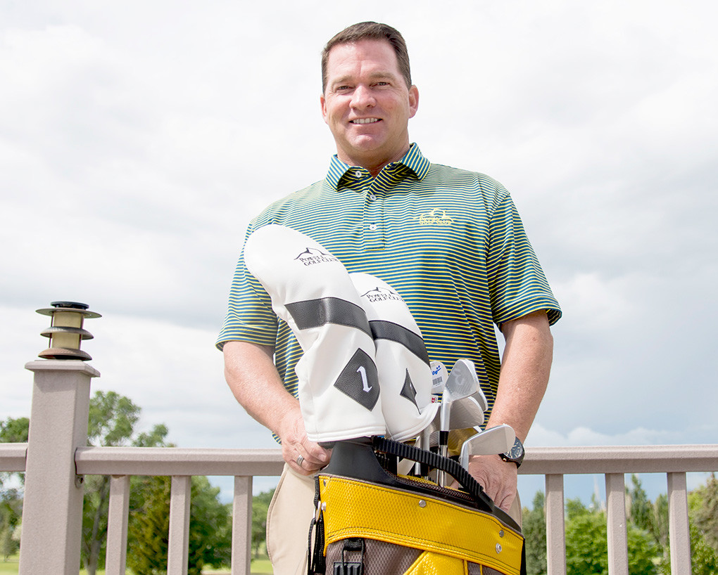 PGA professional Mike Propp is bringing a passion for the sport and an enthusiasm for promoting it to his new position at the Powell Golf Club.
