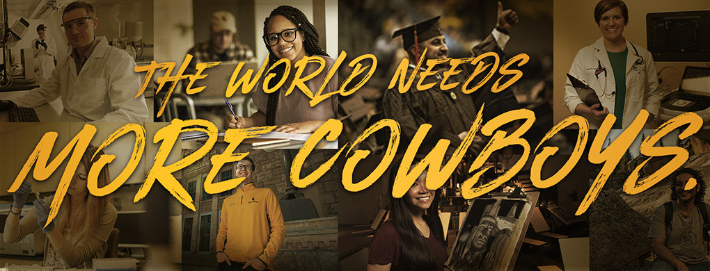 In Cody last week, University of Wyoming trustees approved a marketing campaign built around the phrase, 'The world needs more Cowboys.'