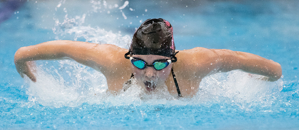 Powell's Ashlyn Aguirre qualified in four events for the state swim meet, including the 100 fly, 100 back, 500 free and 200 IM.