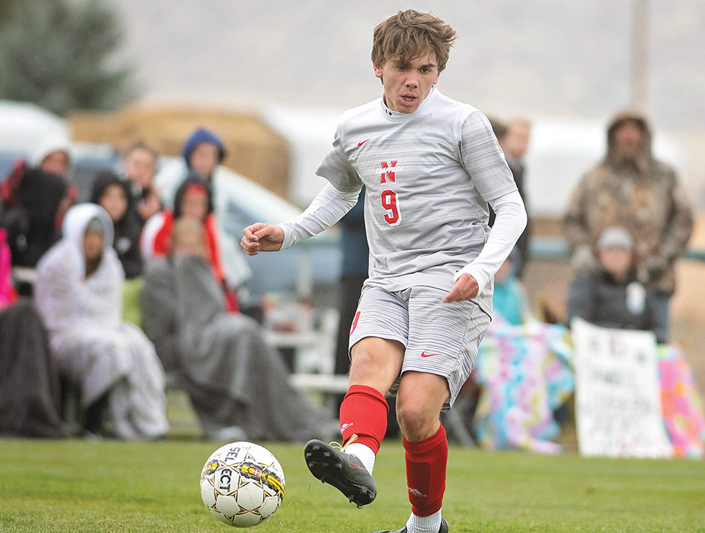 NWC sophomore Jarrett Shrum, seen here during a game last fall, will continue his soccer career next season at Adams State University. Shrum, an All-Region IX North selection, will reunite with former NWC head coach Stan Rodrigues at ASU.