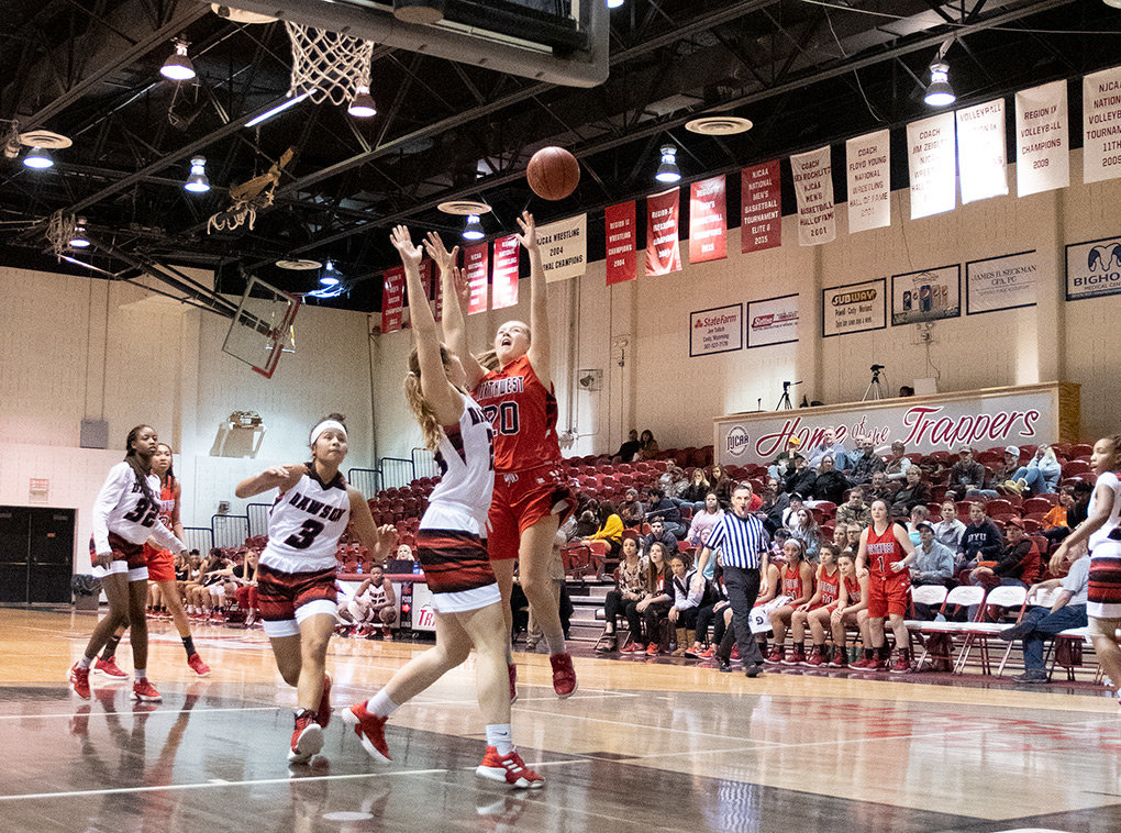The Northwest College women's basketball team battles against Dawson Community College at Cabre Gym earlier this season. NWC's coaching turnover rate will be an item of discussion at the NWC Board of Trustees' March 11 meeting in Cody.