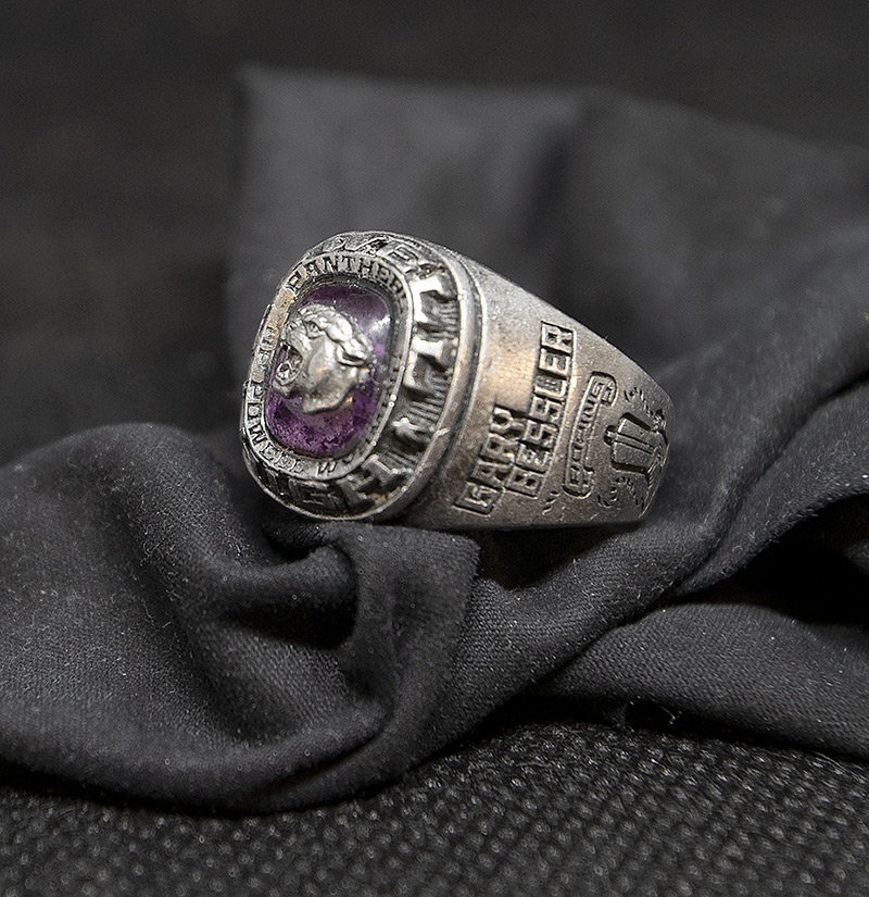 Despite possibly spending 27 years in the sewers of Powell, the engravings on Gary Bessler's lost high school class ring are still legible. Fortunately, he had his name engraved on the ring, allowing it to soon be returned to him.