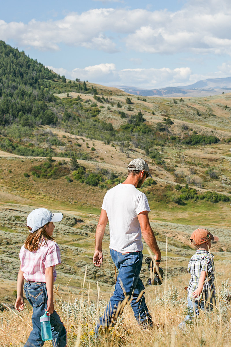 Managers of The Nature Conservancy's Heart Mountain Ranch Preserve invite members of the public to join them for a community hike on Saturday.