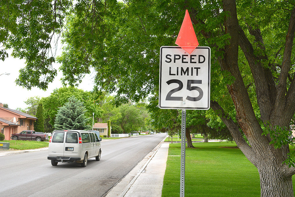The speed limit on Seventh Street has been dropped from 30 to 25 mph at a couple spots — including between Division Street and Tower Boulevard. City officials, who also lowered the speed limit on the north end of Absaroka Street, said the change was generally made because of more development and activity along the routes.