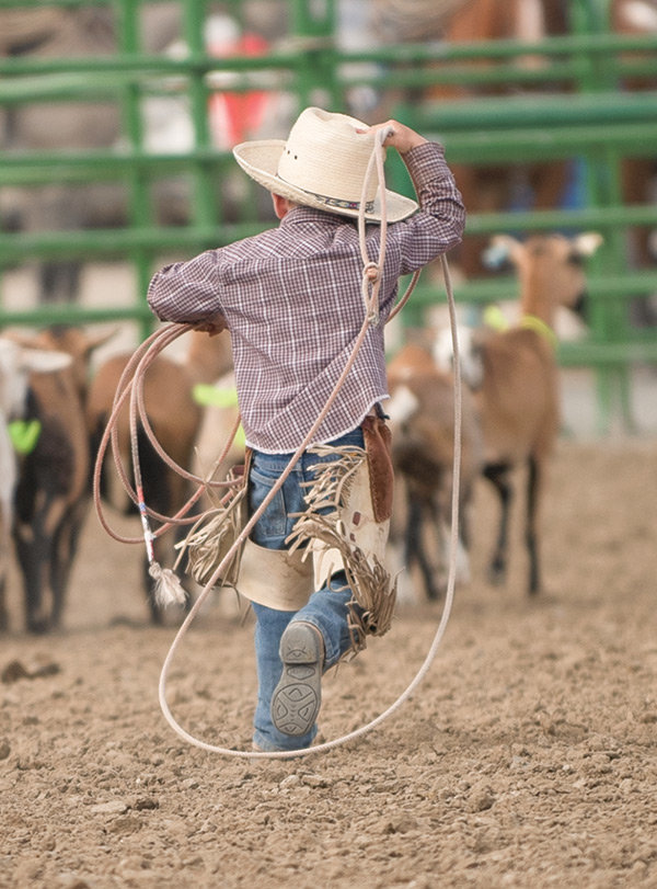 The Ranch Rodeo offers fun for the whole family while also giving youngsters a chance to participate. This year, young cowboys and cowgirls can compete in mutton busting.