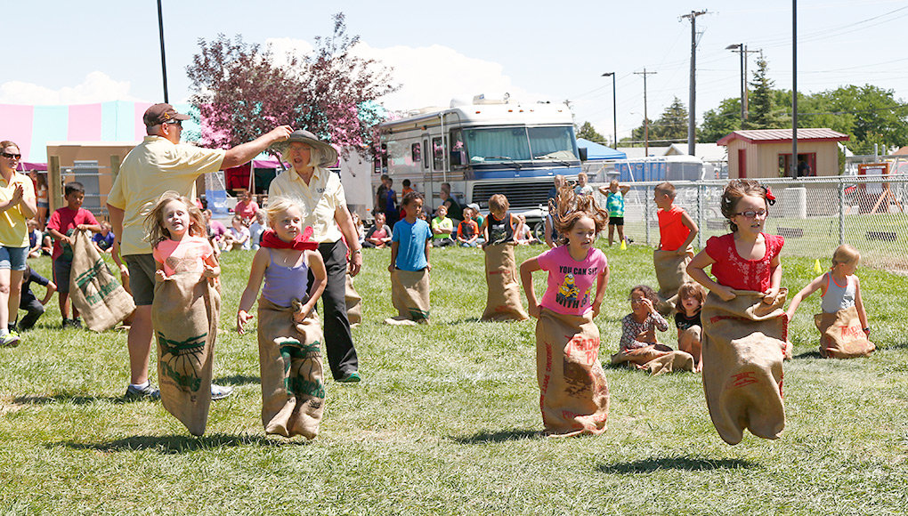 Park County Day on Wednesday will feature a variety of activities for children, including races at 1 p.m. by the 4-H garden next to the carnival. The races are sponsored by the Powell Elks.