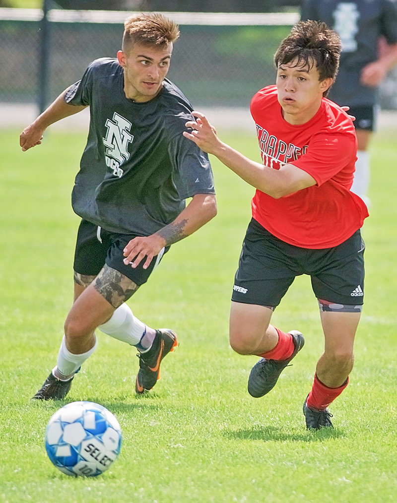 In a season-opening scrimmage last week, the Northwest College men's soccer team took down Northern Idaho College 2-1.