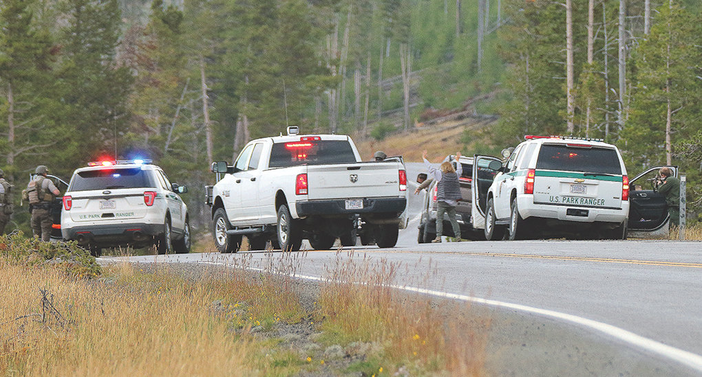 In case of mistaken identity, Yellowstone visitors stopped