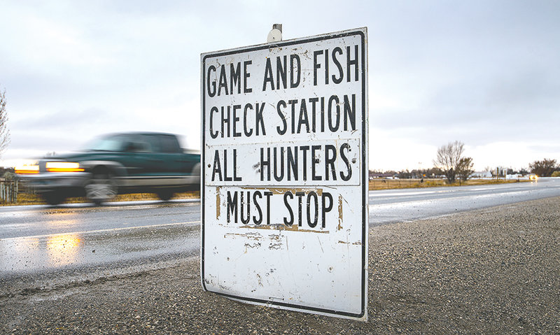 The Wyoming Game and Fish Department is currently running seven check stations in the Big Horn Basin in an effort to get at least 200 samples to test for chronic wasting disease.