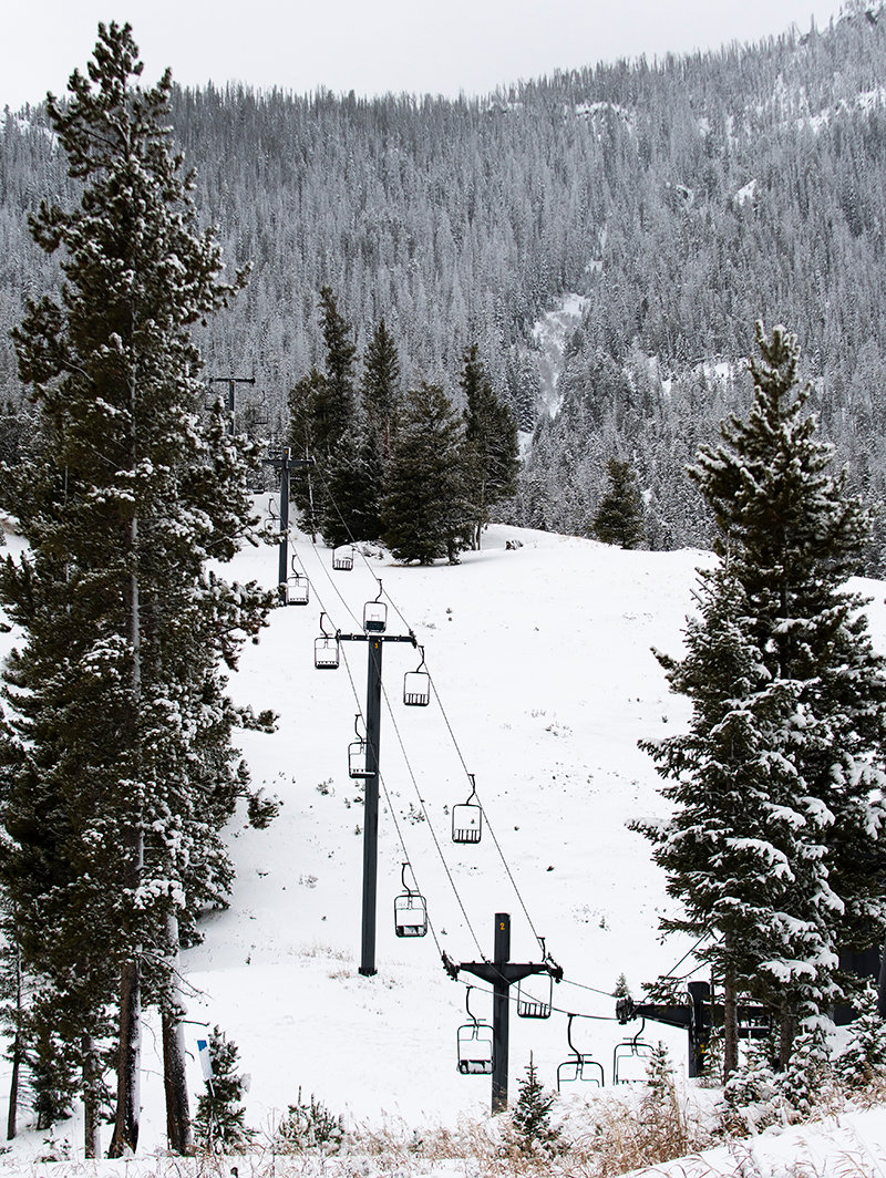 The chair lifts at the Sleeping Giant Ski Area will remain idle for at least one more week. 'We'll watch the weather and open as soon as conditions are right,' said Bob Newsome, a member of the board of the nonprofit organization that operates the ski hill area.