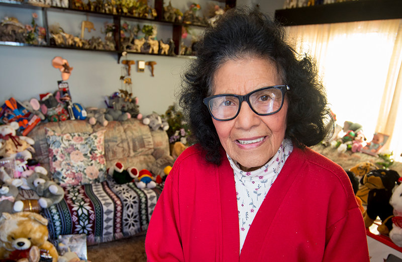 Sally Montoya's family is planning a drive-by celebration Sunday for her 90th birthday.