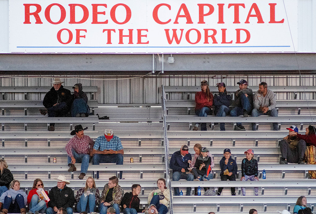 A cap on attendance and social distancing measures led to smaller crowds at the 2020 Cody Stampede rodeo and only the July 4 event sold out.