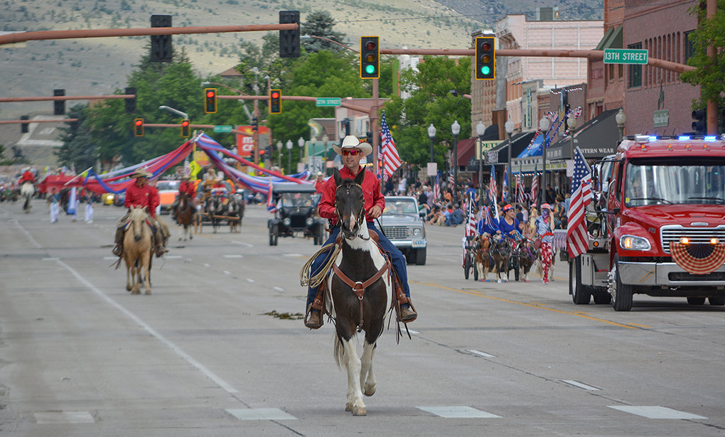 Cody's annual Independence Day celebration continued in 2020 with the Stampede parade. While the number of floats was down this year and fewer people attended, the annual parade featured many of the traditional festivities.