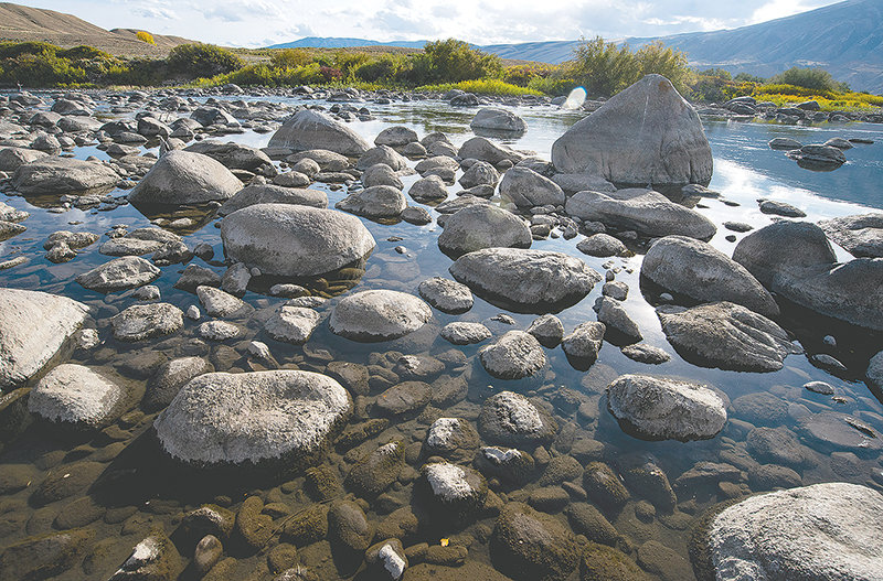 The Clarks Fork of the Yellowstone River cuts through the Beartooth Ranch property near Clark, offering beautiful views and fish habitat. On Tuesday, the Wyoming Game and Fish Commission turned down a request to take over the management of the property.