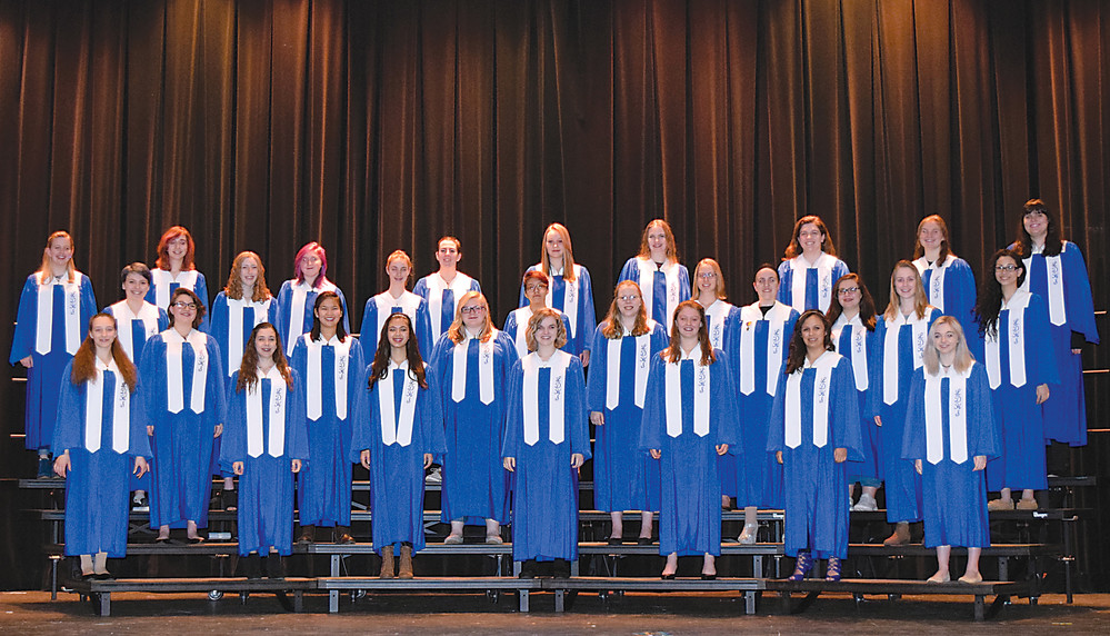 Lower Dauphin's Women's Select Choir was chosen through audition for a special command performance at the All-Eastern festival April 5 in Atlantic City.