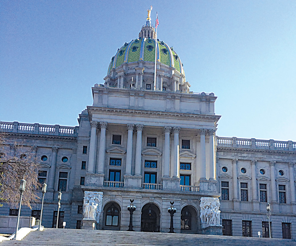 Pennsylvania Statehouse Capitol